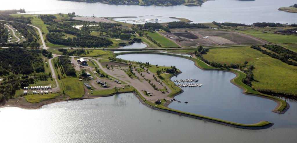 Marinas at Fort Stevenson State Park.jpg